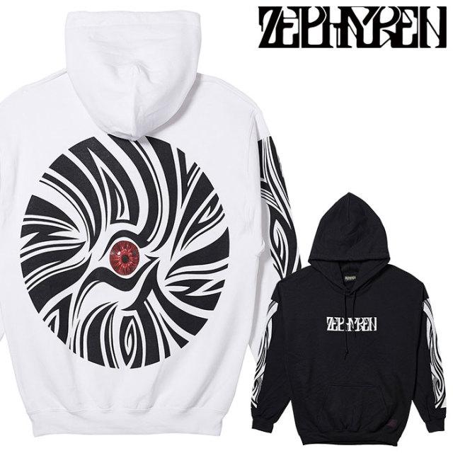ZEPHYREN(ゼファレン) BIG PARKA - VISIONARY/zebra eye - 【パーカー】【Z20PN36】 【2020SPRING&SUMMER先行予約】【キャンセル