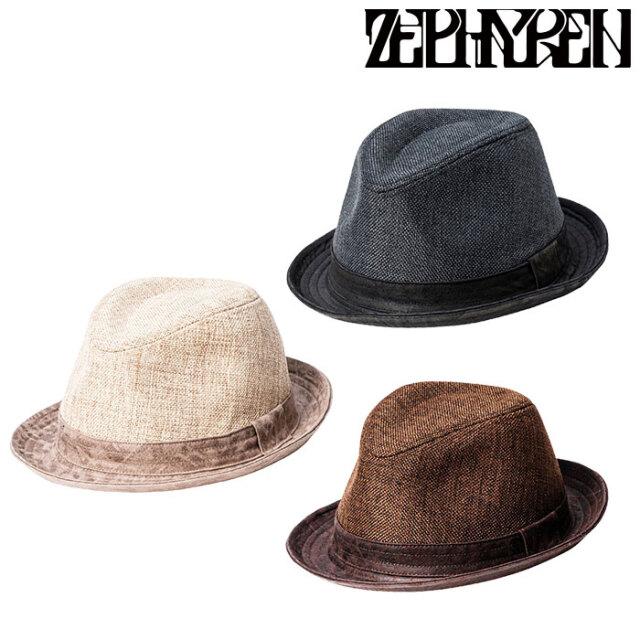 ZEPHYREN(ゼファレン) SYNTHETIC LINEN HAT 【2021 SUMMER先行予約】 【キャンセル不可】【Z20US18】【ハット】