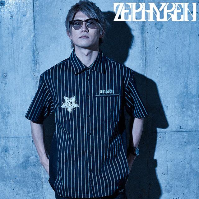 ZEPHYREN(ゼファレン) WORK SHIRT - Wish y'all the best of luck - 【ワークシャツ】【Z21UD03】【2021SUMMER先行予約】【キャン