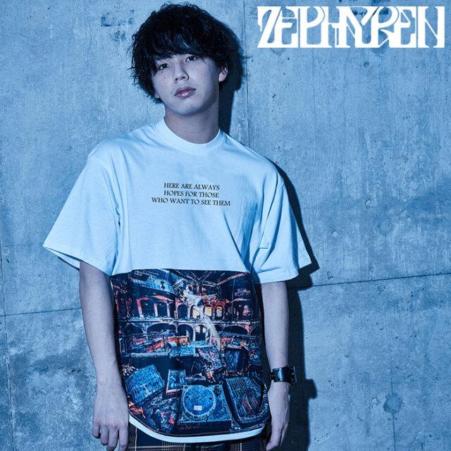 ZEPHYREN(ゼファレン) BIG PHOTO TEE - D?cadence - 【ビッグTシャツ 半袖】【Z21UH14】【2021SUMMER先行予約】【キャンセル不可】