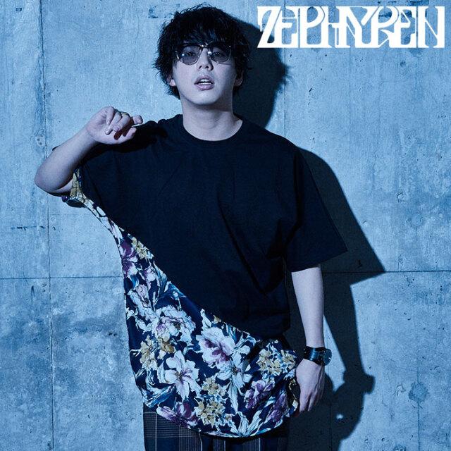 ZEPHYREN(ゼファレン) SWITCHING TEE 【Tシャツ 半袖】【Z21UH19】【2021SUMMER新作】