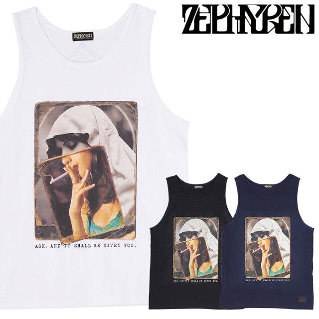 ZEPHYREN(ゼファレン) TANK TOP - Melencolia - 【タンクトップ】【Z21UK31】 【2021SUMMER先行予約】【キャンセル不可】