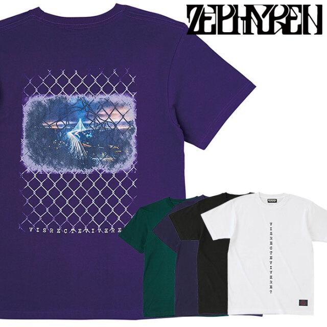 ZEPHYREN(ゼファレン) S/S TEE - aurea mediocritas - 【Tシャツ 半袖】【Z21UL23】 【2021SUMMER先行予約】【キャンセル不可】