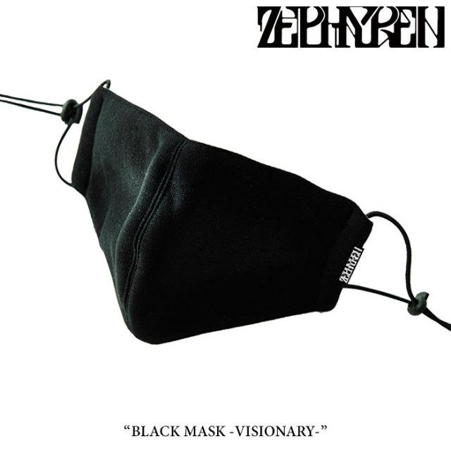 ZEPHYREN(ゼファレン) BLACK MASK -VISIONARY- 【2017AUTUMN/WINTER先行予約】 【キャンセル不可】 【Z16AY02】