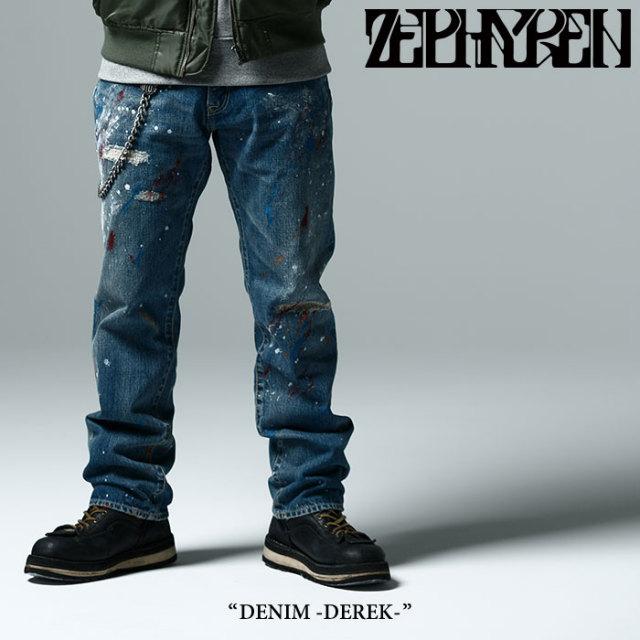 ZEPHYREN(ゼファレン) DENIM -DEREK- 【2017AUTUMN/WINTER先行予約】 【キャンセル不可】 【Z16UQ01】