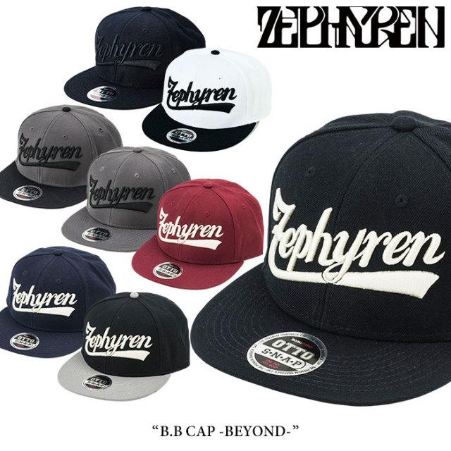 ZEPHYREN(ゼファレン) B.B CAP -BEYOND- 【2017AUTUMN/WINTER先行予約】 【キャンセル不可】 【Z16US04】