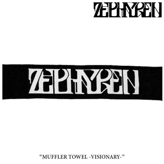 ZEPHYREN(ゼファレン) MUFLLER TOWEL -VISIONARY-  【2017AUTUMN/WINTER先行予約】 【キャンセル不可】 【Z16UY08】