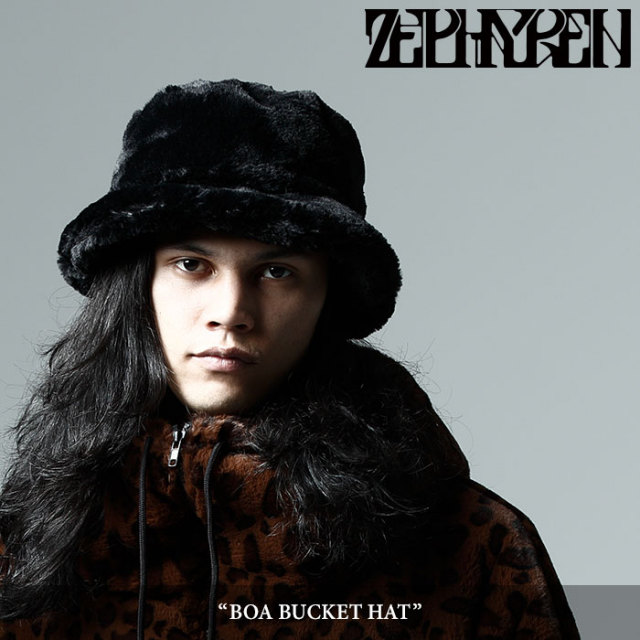 ZEPHYREN(ゼファレン) BOA BUCKET HAT 【2017AUTUMN/WINTER先行予約】 【キャンセル不可】 【Z17AT01】