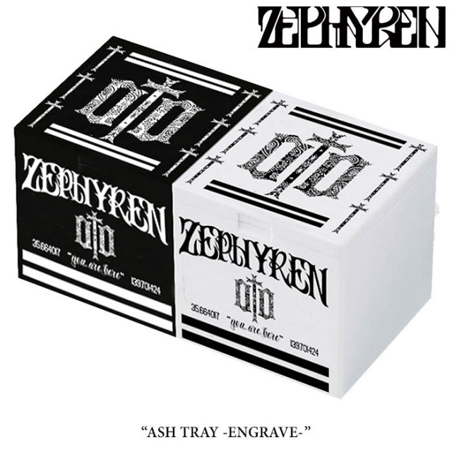 ZEPHYREN(ゼファレン) ASH TRAY -ENGRAVE- 【2017AUTUMN/WINTER先行予約】 【キャンセル不可】 【Z17AY02】