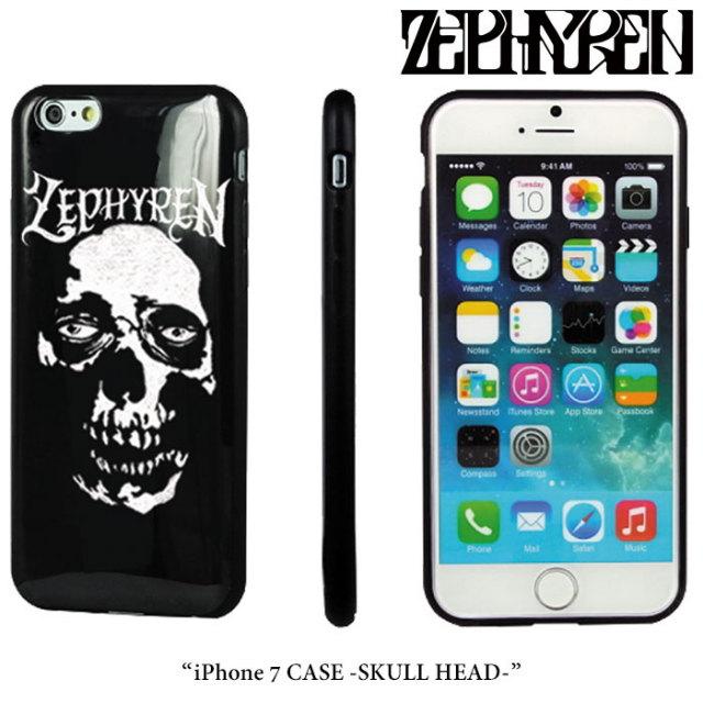 ZEPHYREN(ゼファレン) iPhone 7 CASE -SKULL HEAD-  【2017AUTUMN/WINTER先行予約】 【キャンセル不可】 【Z17PX04】