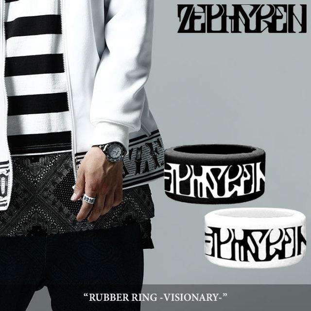 ZEPHYREN(ゼファレン) RUBBER RING -VISIONARY- 【2018SPRING/SUMMER先行予約】 【キャンセル不可】 【Z17UW01】