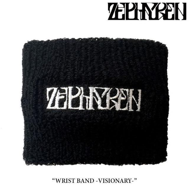 ZEPHYREN(ゼファレン) WRIST BAND -VISIONARY-  【2018SUMMER先行予約】 【キャンセル不可】 【Z17UW02】