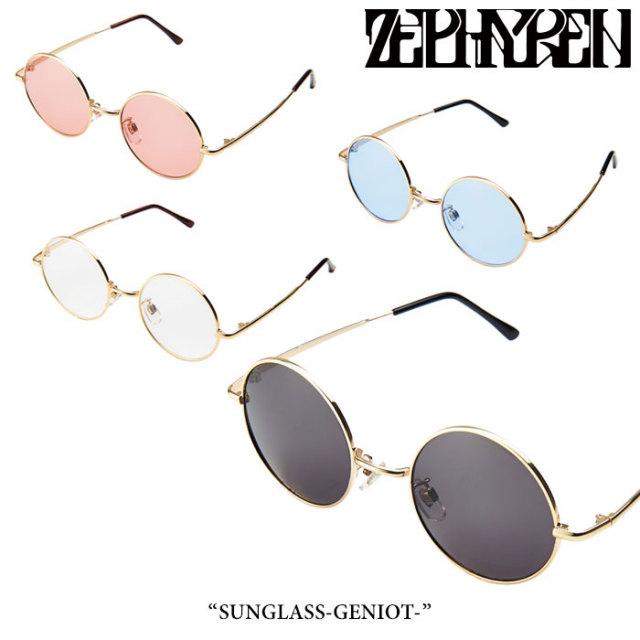 ZEPHYREN(ゼファレン) SUNGLASS-GENIOT- 【2018SUMMER先行予約】 【キャンセル不可】 【Z17UX03】