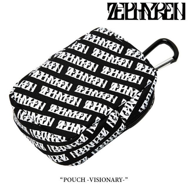 ZEPHYREN(ゼファレン) POUCH -VISIONARY- 【2018SUMMER先行予約】 【キャンセル不可】 【Z17UX09】