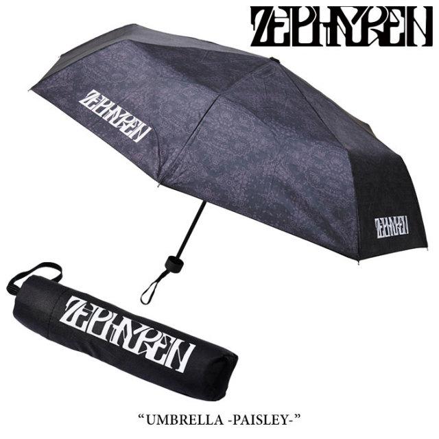 ZEPHYREN(ゼファレン) UMBRELLA -PAISLEY- 【2017AUTUMN/WINTER先行予約】 【キャンセル不可】 【Z17UY02】