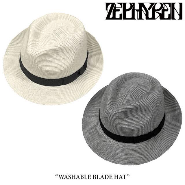 ZEPHYREN(ゼファレン) WASHABLE BLADE HAT 【2018SUMMER先行予約】 【キャンセル不可】 【Z18UT33】