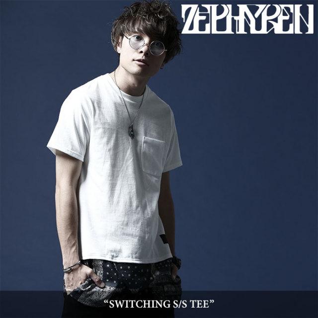 ZEPHYREN(ゼファレン) SWITCHING S/S TEE 【2018SUMMER先行予約】 【キャンセル不可】 【Z18UH11】