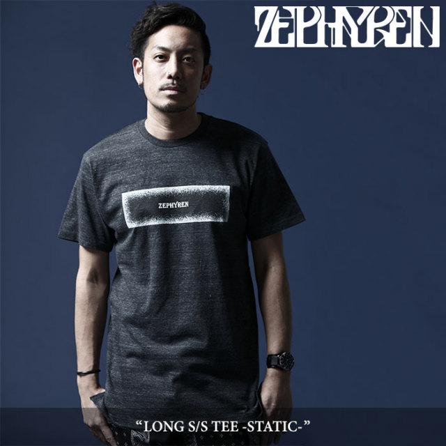 ZEPHYREN(ゼファレン) LONG S/S TEE -STATIC- 【2018SUMMER先行予約】 【キャンセル不可】 【Z18UL22】