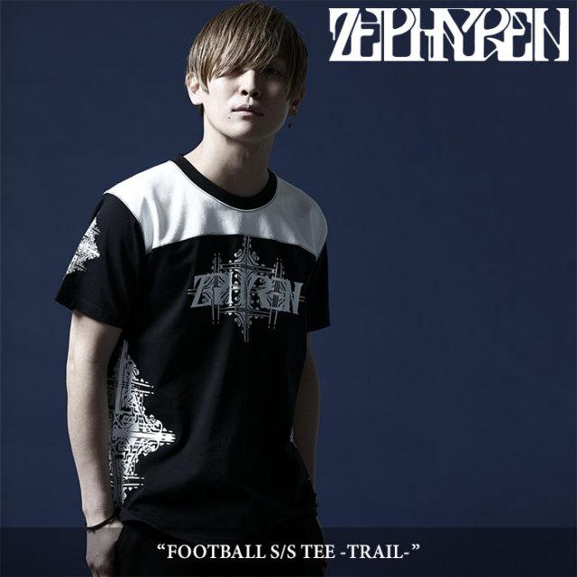 ZEPHYREN(ゼファレン) FOOTBALL S/S TEE -TRAIL- 【2018SUMMER先行予約】 【キャンセル不可】 【Z18UL26】