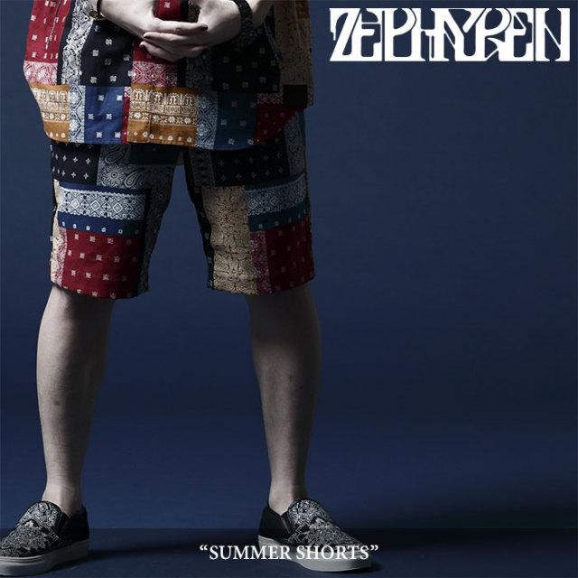 ZEPHYREN(ゼファレン) SUMMER SHORTS 【2018SUMMER先行予約】 【送料無料】【キャンセル不可】 【Z18UP29】