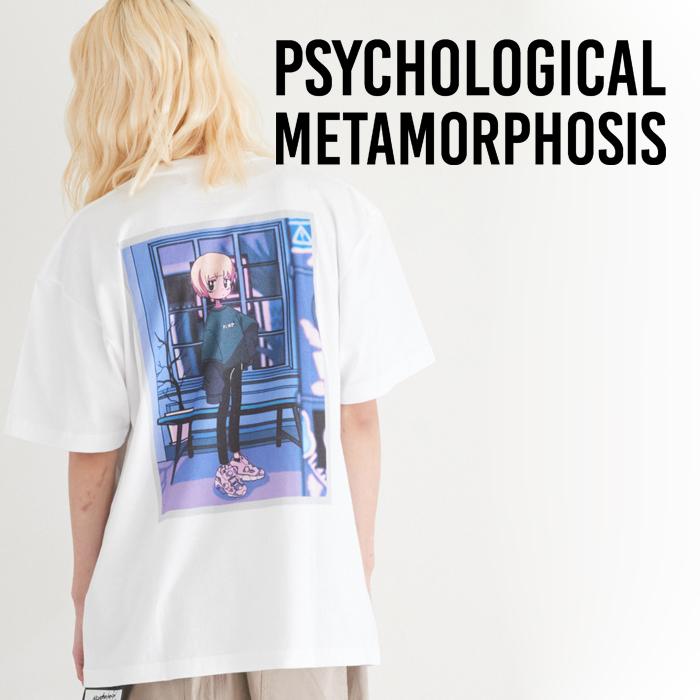 PSYCHOLOGICAL METAMORPHOSIS PLMP×GURIN. SS TEE 02 【Tシャツ 新作】【PLMP ピーエルエムピー】【サイコロジカルメタモルフォー