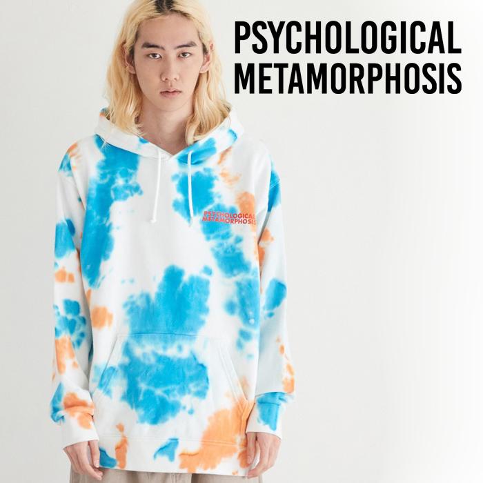 PSYCHOLOGICAL METAMORPHOSIS DYED 2TONE PARKA 【タイダイ パーカー】【PLMP ピーエルエムピー】【サイコロジカルメタモルフォー
