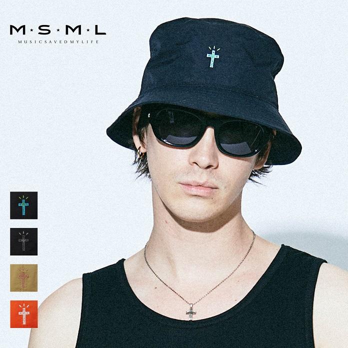 MSML/NYLON BUCKET HAT/M11-02A1-HW03