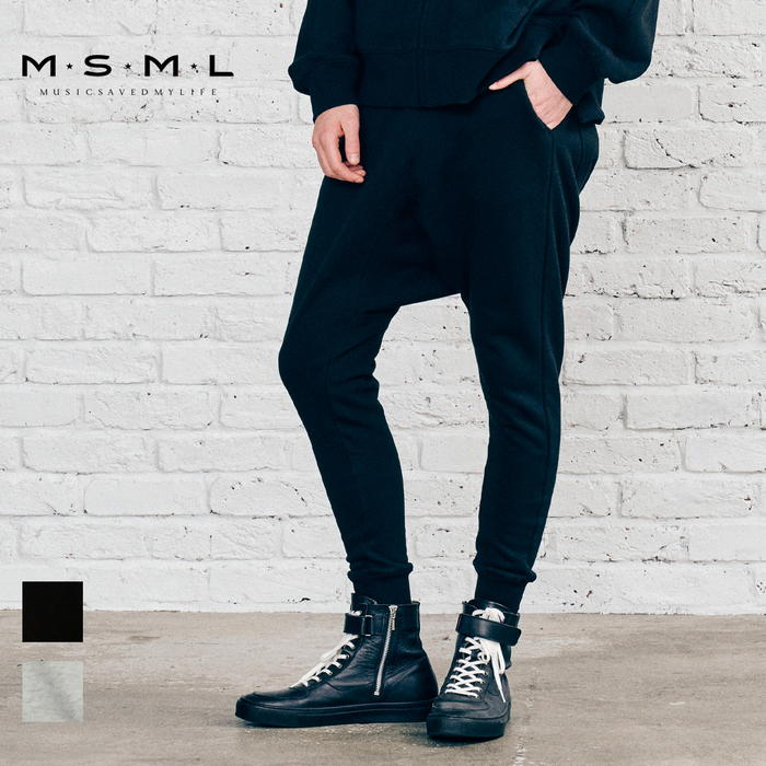 【取り寄せ対応】 MSML SAROUEL SWEAT PANTS M21-02A5-PL01 21AW KATSUMA スウェットパンツ スウェット サルエルパンツ パンツ カジ