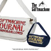 SOFTMACHINE(ソフトマシーン) SM JOURNAL NEWS PAPER BAG(NEWS PAPER BAG) 【2018SUMMER VACATION新作】【送料無料】 【ニュース