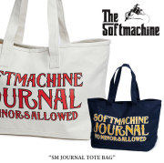 SOFTMACHINE(ソフトマシーン) SM JOURNAL TOTE BAG(TOTE BAG) 【2018SUMMER VACATION新作】【送料無料】 【トートバッグ】【タト