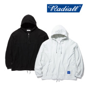 RADIALL(ラディアル) LAID BACK- HOODIE SWEATSHIRT L/S 【2019 SPRING&ampSUMMER COLLECTION】 【RAD-19SS-CUT006】【パーカー】