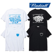RADIALL(ラディアル) VATO-CREW NECK T-SHIRT S/S 【2019 SPRING&ampSUMMER COLLECTION】 【RAD-19SS-TEE001】【Tシャツ】