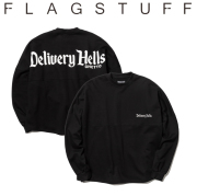 """F-LAGSTUF-F(フラグスタフ) &quotGHETTO"""" L/S SWEAT 【送料無料】【19AW-DH-03】 【F-LAGSTUF-F】【FLAGSTUFF】【Delivery Hells】"""