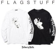 """F-LAGSTUF-F(フラグスタフ) """"$&quotL/S Tee 【送料無料】【19AW-DH-15】 【F-LAGSTUF-F】【FLAGSTUFF】【Delivery Hells】 【フラグ"""