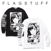 F-LAGSTUF-F(フラグスタフ) &quotDream and reality&quot L/S Tee 2 【2019 SPRING&ampSUMMER COLLECTION】 【F-LAGSTUF-F】【フラグスタフ】