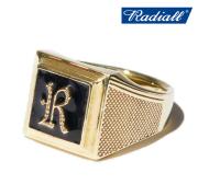 RADIALL(ラディアル) SYMBOLIZE - PINKY RING(BRASS) 【ピンキーリング 指輪 アクセサリー ブラス】【2020 SPRING&ampSUMMER COLLECTI