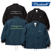 RADIALL(ラディアル) FLAG-WINDBREAKER JACET 【ウインドブレーカー コーチジャケット】【送料無料】 【2020 SPRING&ampSUMMER COLLE