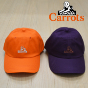 "CARROTS(キャロッツ) LOGO HAT 【""Carrots"" -by Anwar Carrots-】【2019】 【CAPキャップ】【CFA18-SBC】"