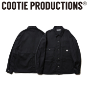 COOTIE(クーティー)  T/C Serge Short Coverall 【送料無料】【CTE-19A201】【カバーオール】