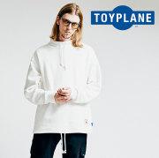 TOYPLANE(トイプレーン) BIG MOCK NECK SWEAT 【2018AUTUMN/WINTER新作】 【スウェット モックネック】【TP18-FSW05】