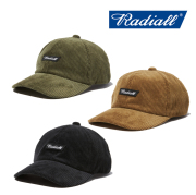 RADIALL(ラディアル) FLAGS-BASEBALL LOW CAP 【2019 AUTUMN&ampWINTER COLLECTION】 【RAD-19AW-HAT009】【ローキャップ】【帽子】