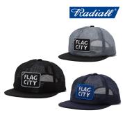 RADIALL(ラディアル) FLAG CITY-TRUCKER CAP 【2019 SPRING&ampSUMMER COLLECTION】 【RAD-19SS-HAT004】【キャップ】