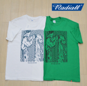 RADIALL(ラディアル) HOCUS POCUS - CREW NECK T-SHIRT S/S 【2019 SPRING&SUMMER SPOT COLLECTION】 【RAD-19SS-SPOT-TEE002】【