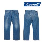 RADIALL(ラディアル) KUSTOM 350B-STRAIGHT FIT PANTS 【2019 SPRING&ampSUMMER COLLECTION】 【RAD-19SS-PT008-02】【デニム】