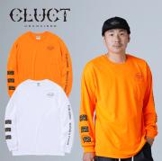 CLUCT(クラクト) CC-ROUGH N TOUGH L/S 【2019HOLIDAY新作】【#03076】【ロングスリーブTシャツ】【袖プリント ロンT おしゃれ】【