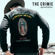 CRIMIE(クライミー) メンズ スウェット パーカー クルーネック コットン100% [S M L LL XL][ブラック ネイビー 黒 紺]【C1H5-SW01】