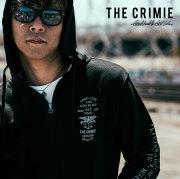 CRIMIE(クライミー) メンズ ロゴ スウェット パーカー ジップ コットン100% [S M L LL XL][ブラック ネイビー 黒 紺]【C1H5-SW06】シ