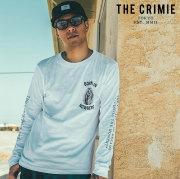 CRIMIE(クライミー) MARIA LONG T-SHIRT 【ロングスリーブTシャツ】【ブラック ホワイト アメカジ ミリタリー】【シンプル おしゃ
