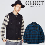 CLUCT(クラクト) L/S FLANNEL CHECK SHIRT 【2018HOLIDAY新作】 【チェックシャツ】【#02806】