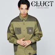 CLUCT(クラクト) MILITARY PKT SHIRT 【2018HOLIDAY新作】 【ミリタリーシャツ】【#02896】